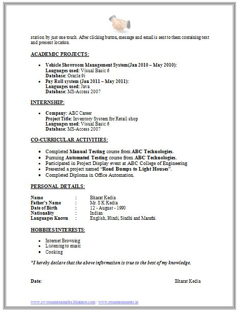 Updated Resume Examples] Resume Best Template Word Pdf Ktatdi
