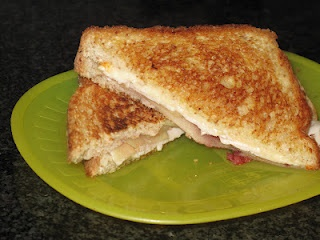 Grilled Turkey Bacon & Cheese Sandwich | Recipes From My Blog | Pinte ...