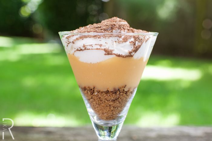 Butterscotch Pudding Parfait with Gluten-Free Cinnamon Crumbs, Whipped ...