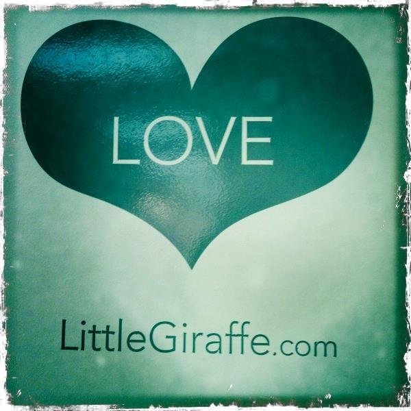 Little Giraffe is Love! Image taken at Little Giraffe headquarters...