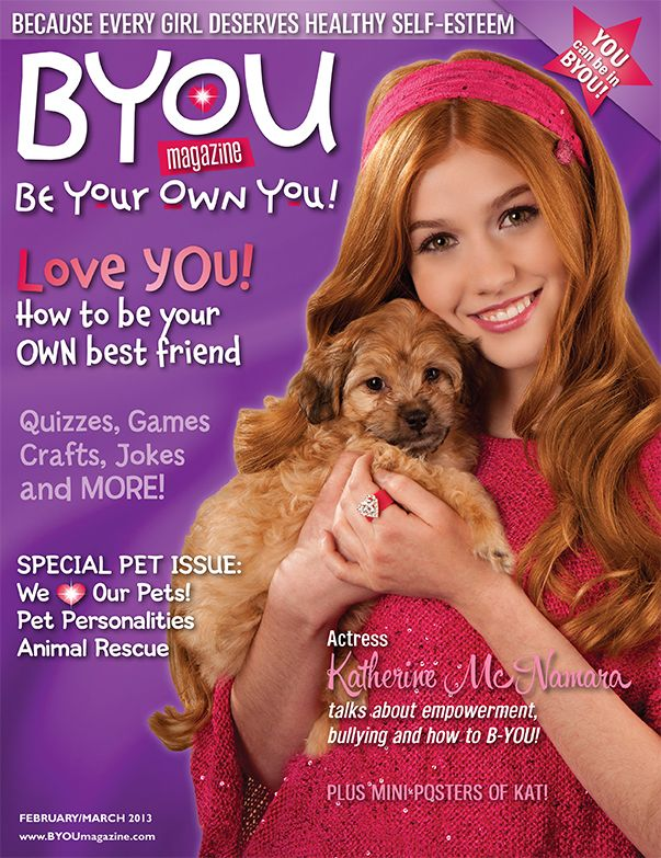 BYOU Magazine For Girls