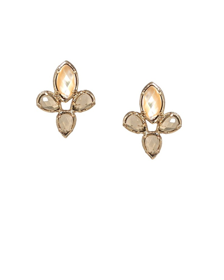 Fleur Earrings in Shine - Kendra Scott