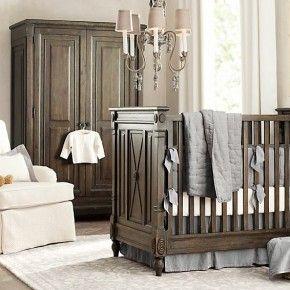 Brown Blue White Wonderful Boys Nursery Designs