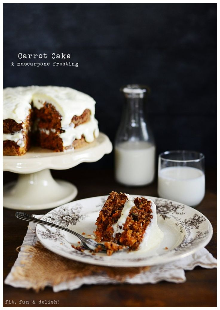 Carrot Cake & Mascarpone Frosting