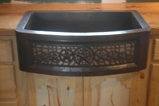 Love this copper sink! KD Ranch Style Pinterest