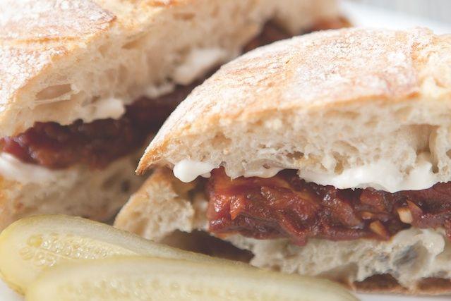 ... Carolina Barbecue Tofu Sandwich   Burgers and sandwiches   Pint