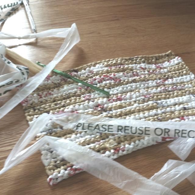 Crocheting with plarn crocheting Pinterest