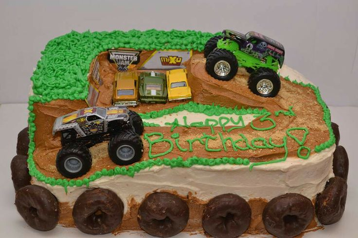 Monster Truck Cake Images