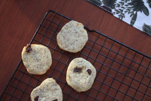 Sundays with Joy: Tart Cherry Orange Poppy Seed Cookies