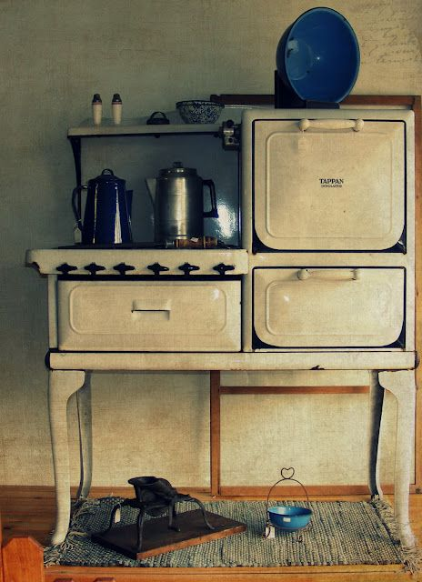 Kitchen Stove Old Stoves Pinterest