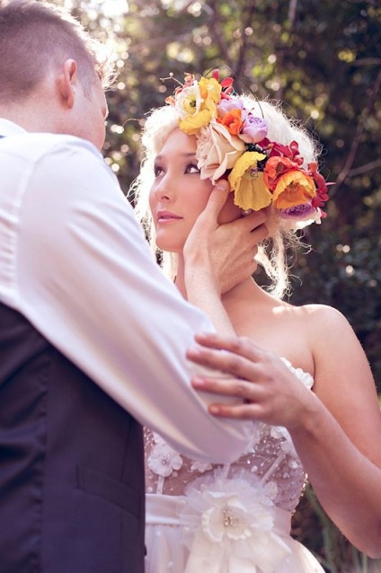 Wedding Flower Halo Pretty Things Pinterest