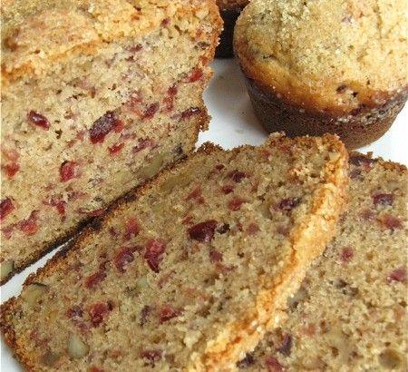Cranberry walnut bread and muffins | Flourish - King Arthur Flour's ...