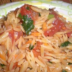 Vegetarian Lime Orzo Recipe — Dishmaps