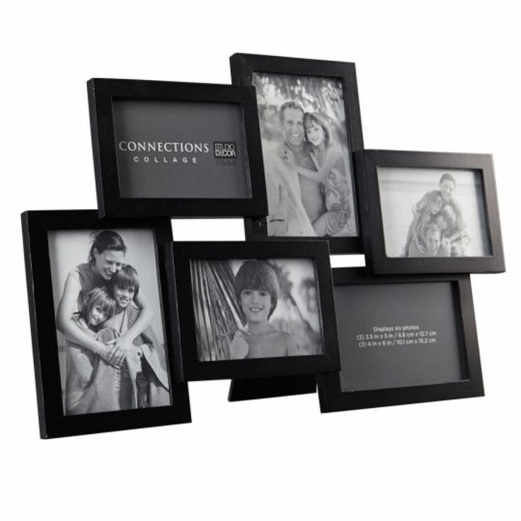 6 Opening Collage Frame