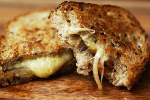 Gruyere Grilled Cheese | Glorious Grilled Cheese | Pinterest