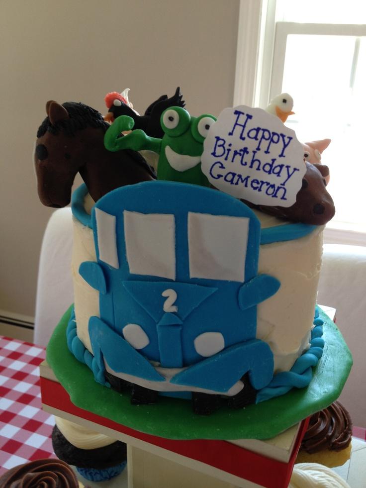 Little Blue Truck Birthday Cake by Erin Mills
