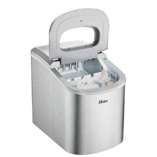 Countertop Ice Maker How Does It Work : Oster OSIM22SV Countertop Ice Maker want one! Pinterest
