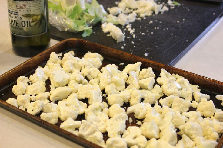 Roasted Cauliflower Salad | SALADS/SALAD DRESSINGS | Pinterest