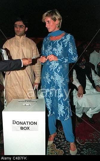 Princess diana in pakistan princess diana doing what she believed