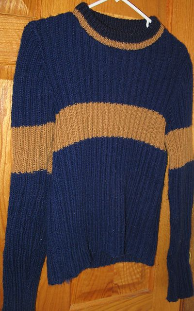 Quidditch Sweater Pattern - Long Sweater Jacket