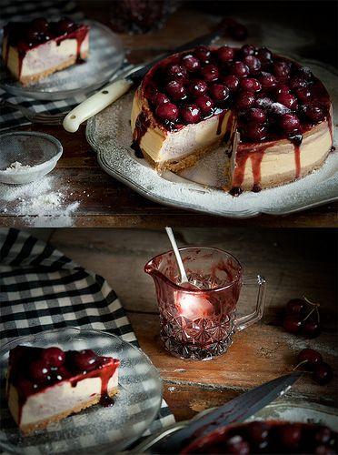 cherry_cheesecake_swirl | Cheese Cakes | Pinterest