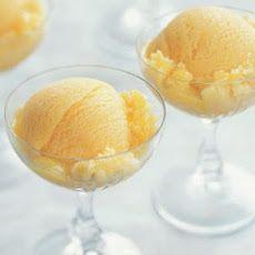 Peach-Mango Sorbet Recipe | Art of Cooking | Pinterest