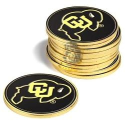 Colorado Buffaloes 12 Pack Collegiate Ball Markers