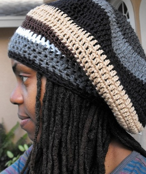 Free Crochet Pattern For Tam Hat : rasta tam again great color combo. Crochet Fashion/Baby ...