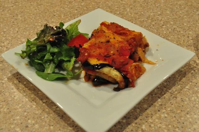 Layered Eggplant And Polenta Casserole Recipe — Dishmaps
