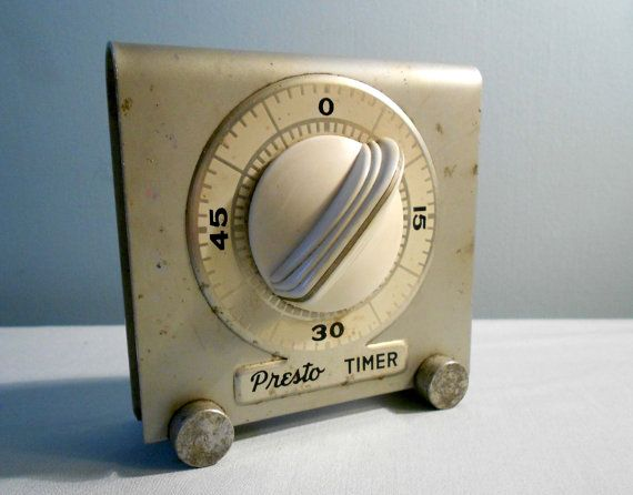 Vintage Timer Kitchen Or Industrial Presto From National Pressure