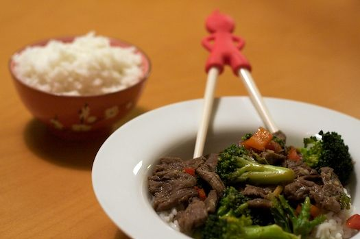 Beef and Broccoli with Oyster Sauce for Two I always get this at ...