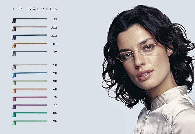 Eyeglasses Frame Color Guide : Lindberg Air Rim - color variety Lindberg eyeglasses ...