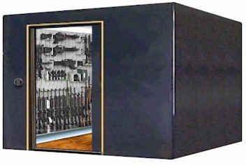 Underground gun vault dream home must haves pinterest for Gun vault rooms