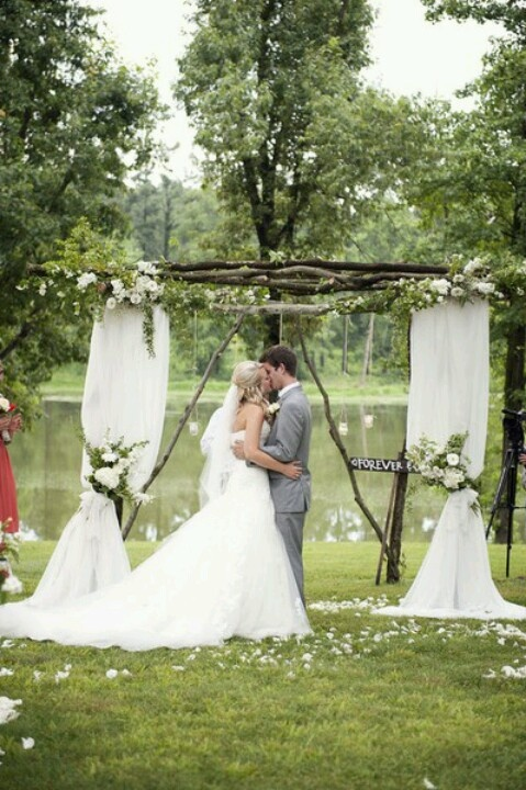 Simple Country Wedding