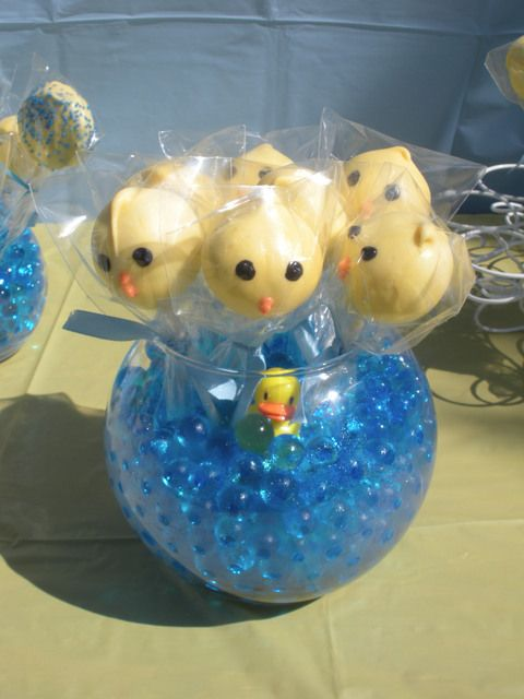 rubber ducky baby shower party ideas