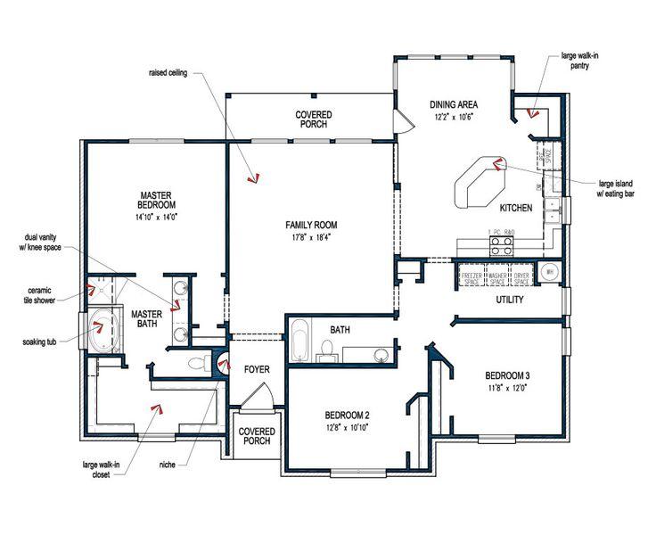 parker floor plans pinterest