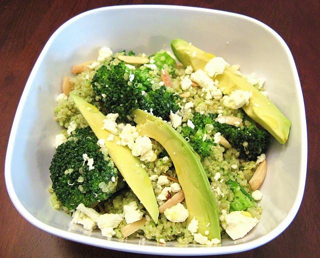 Double Broccoli Quinoa | FOOD | Pinterest