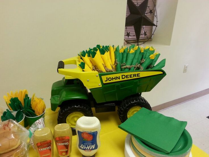 john deere themed baby shower baby shower pinterest