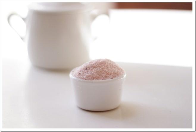 pink vanilla salt | Food - Condiments | Pinterest