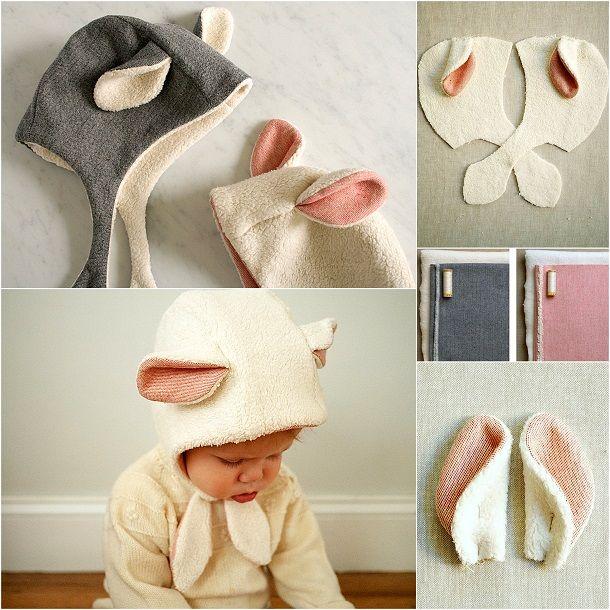 Сшить шапочку малышу своими руками 83