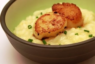 Risotto and Seared Scallops | Things I want to EAT! | Pinterest