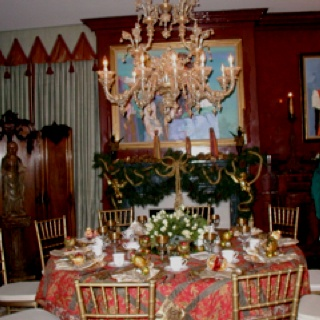 Christmas table holidays and events pinterest
