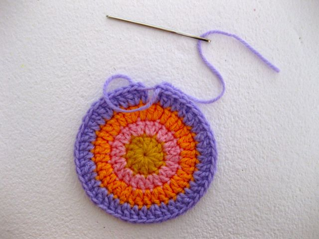 Crochet Invisible Join : An invisible join... Crocheting Pinterest