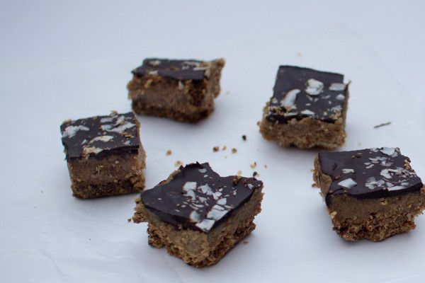 Healthy Chocolate Caramel Slice - nzgirl | Baking- Sweet | Pinterest