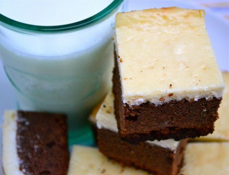 Cheesecake brownies! | ~GlUtEn FrEe DeSsErTs~ | Pinterest