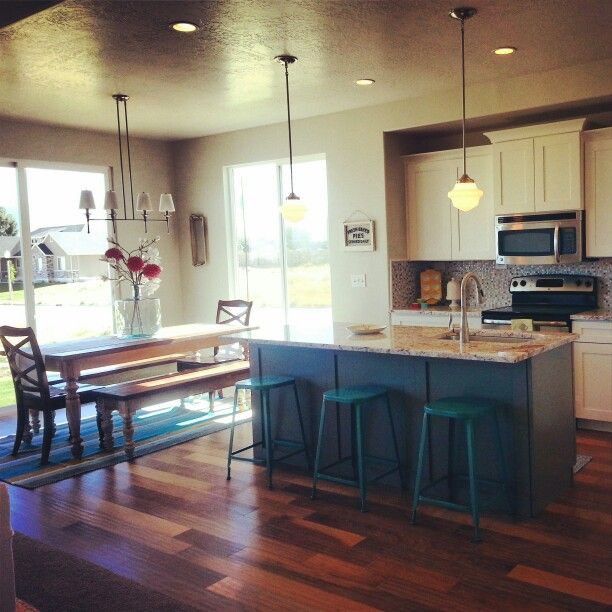 contrasting kitchen island room designs pinterest