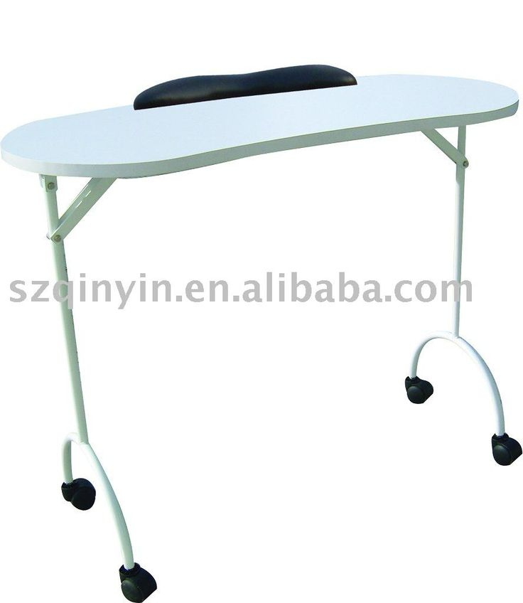Folding nail table buy folding nail table nail tables for Fold up nail table