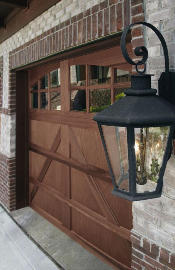 Pin by mortland overhead door on wood carriage house for Wood carriage garage doors