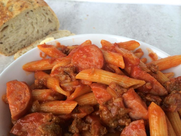 penne with sausage and fennel | If I cooked | Pinterest