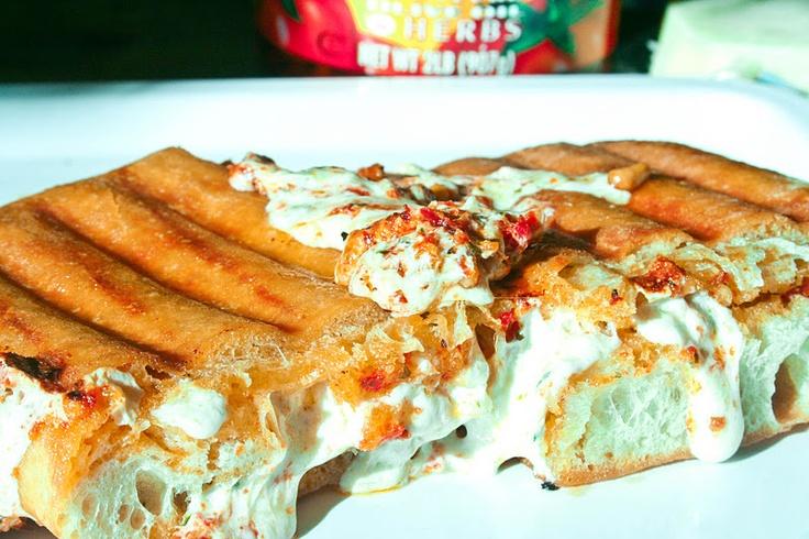 Sun-Dried Tomato Pesto Sandwich | Recipe